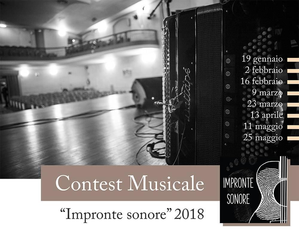 "Contest musicale ""Impronte sonore"" - Teatro Filodrammatici Treviglio"